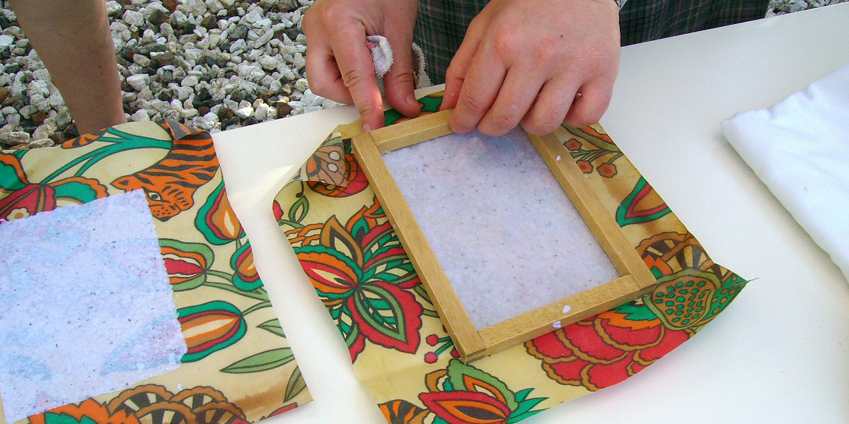 paper making at eleonas hotel